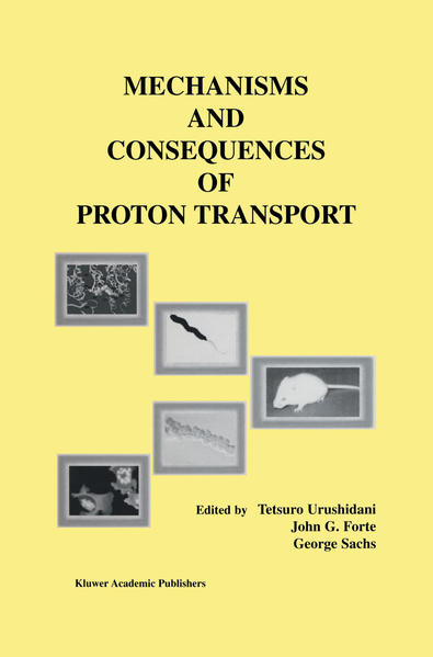 Mechanisms and Consequences of Proton Transport - Coverbild