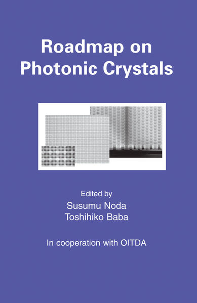 Roadmap on Photonic Crystals - Coverbild