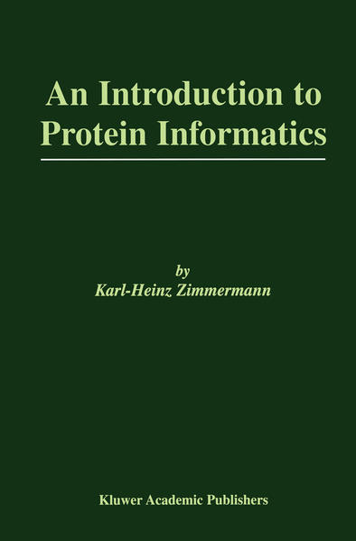 An Introduction to Protein Informatics - Coverbild