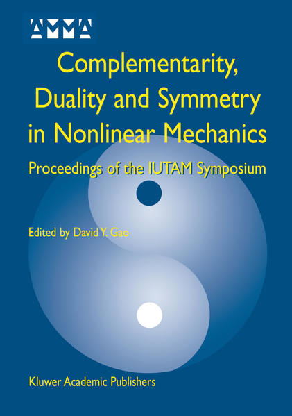Complementarity, Duality and Symmetry in Nonlinear Mechanics - Coverbild