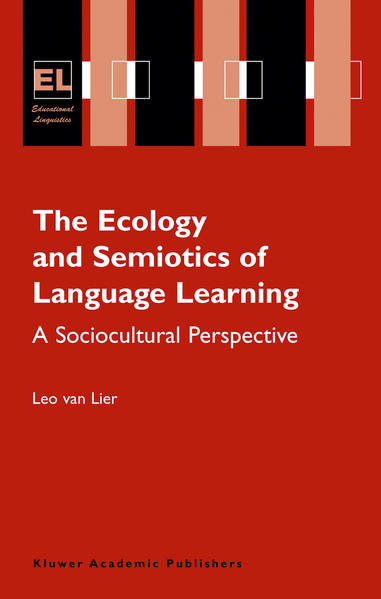 The Ecology and Semiotics of Language Learning - Coverbild