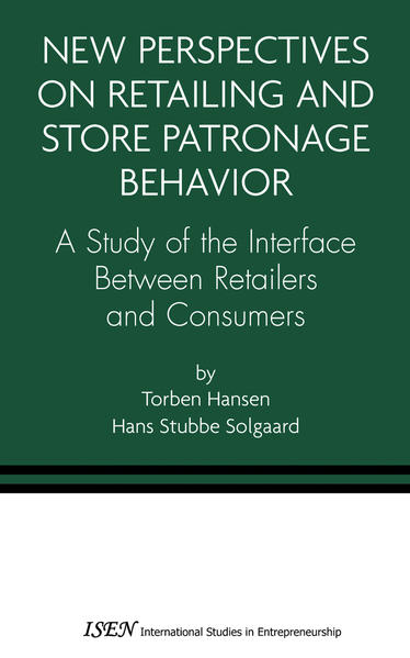 New Perspectives on Retailing and Store Patronage Behavior - Coverbild