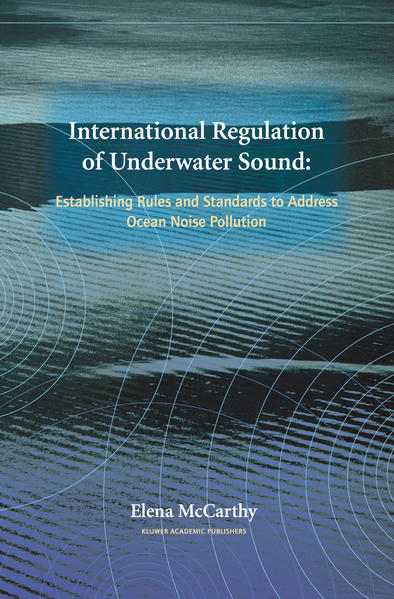 International Regulation of Underwater Sound - Coverbild
