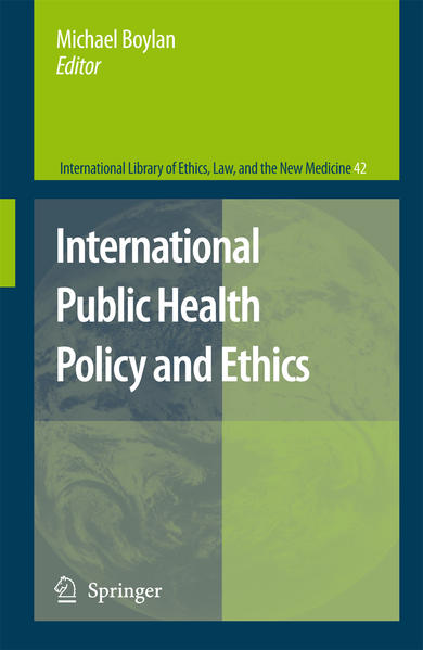 International Public Health Policy and Ethics - Coverbild