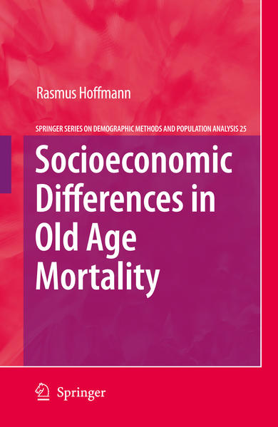 Socioeconomic Differences in Old Age Mortality - Coverbild