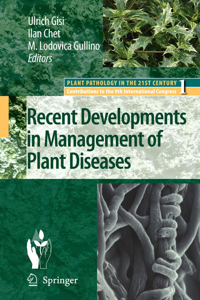 Recent Developments in Management of Plant Diseases - Coverbild
