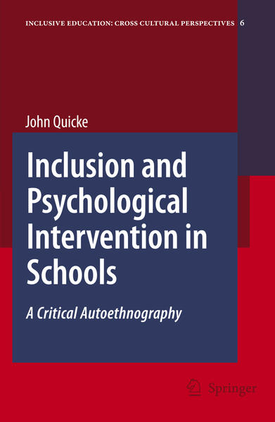 Inclusion and Psychological Intervention in Schools - Coverbild