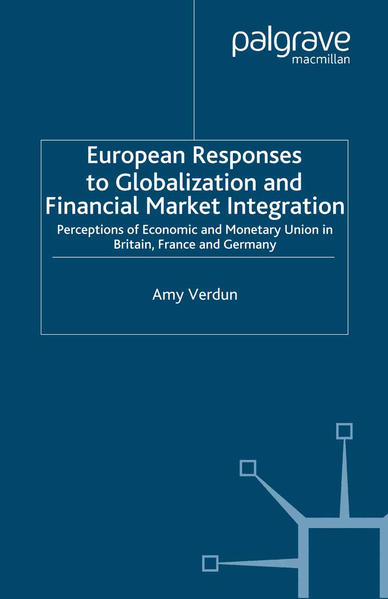 European Responses to Globalization and Financial Market Integration - Coverbild