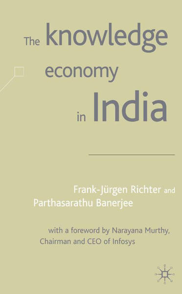 The Knowledge Economy in India - Coverbild