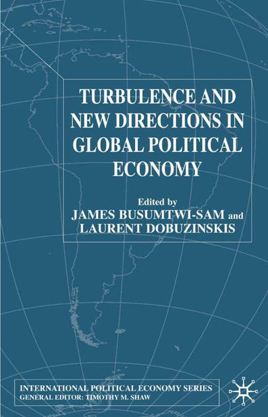 Turbulence and New Directions in Global Political Economy - Coverbild