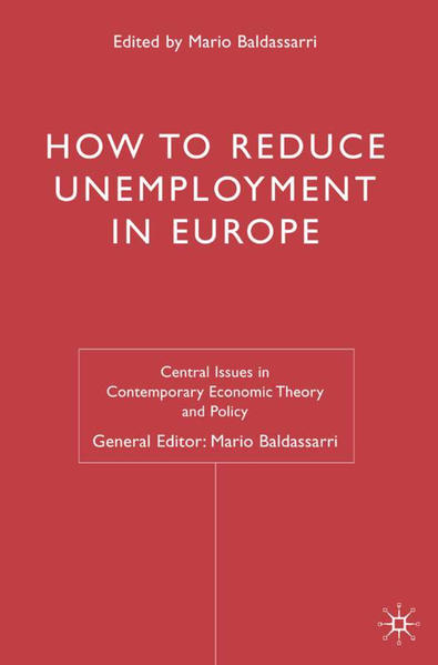 How to Reduce Unemployment in Europe - Coverbild