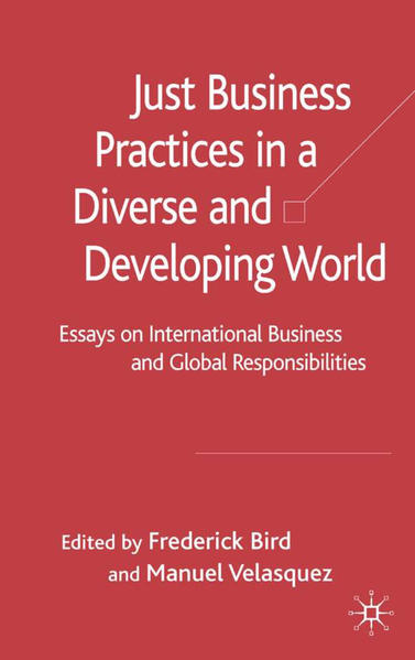 Just Business Practices in a Diverse and Developing World - Coverbild