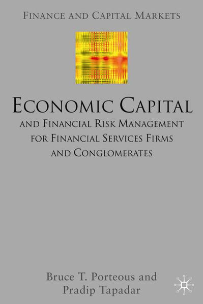 Economic Capital and Financial Risk Management for Financial Services Firms and Conglomerates - Coverbild