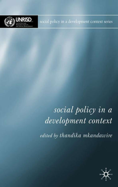 Social Policy in a Development Context - Coverbild
