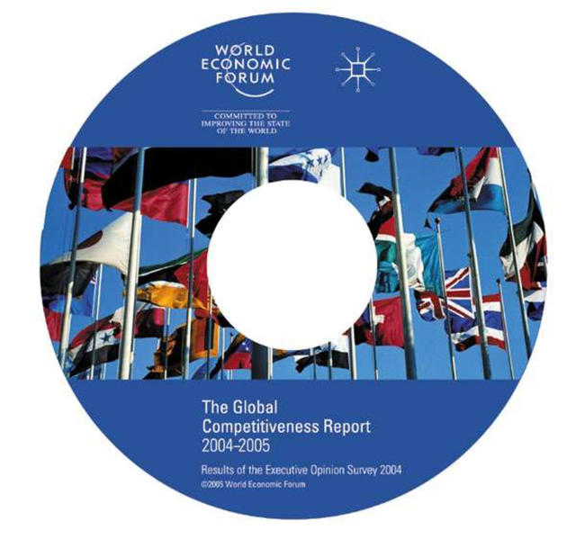 The Global Competitiveness Report 2004-2005 CD-Rom - Coverbild