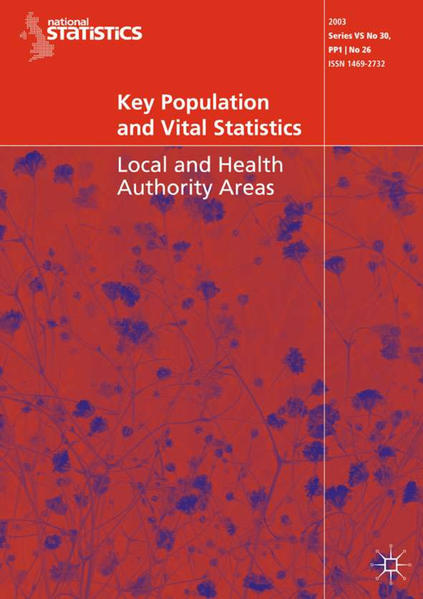 Key Population and Vital Statistics (2003) - Coverbild