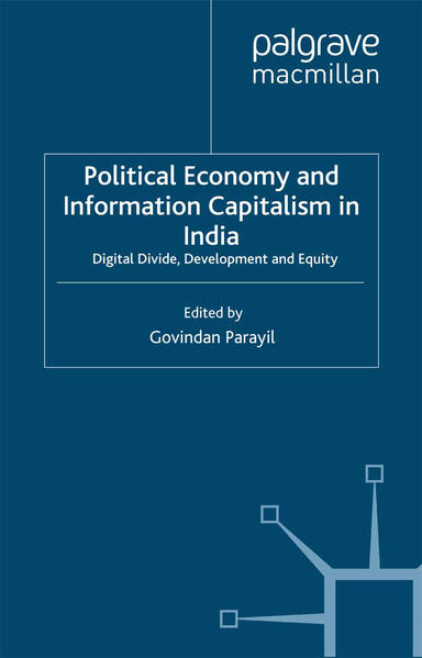 Political Economy and Information Capitalism in India - Coverbild