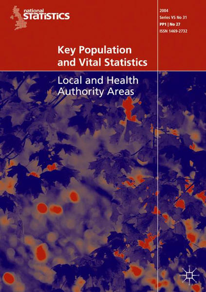 Key Population and Vital Statistics (2004) - Coverbild