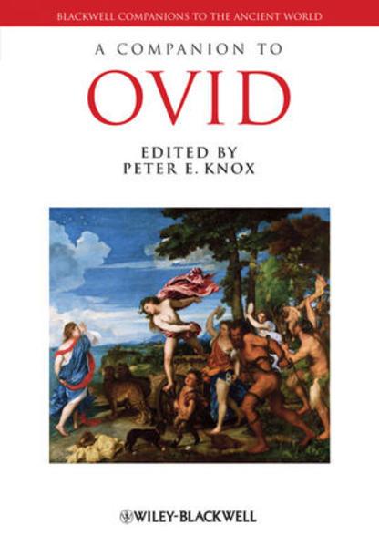 A Companion to Ovid - Coverbild