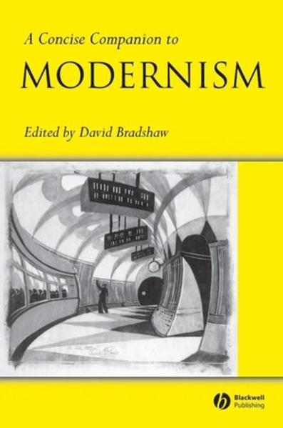 A Concise Companion to Modernism - Coverbild