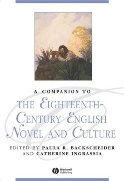 A Companion to the Eighteenth-Century English Novel and Culture - Coverbild
