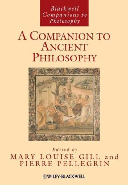 A Companion to Ancient Philosophy - Coverbild
