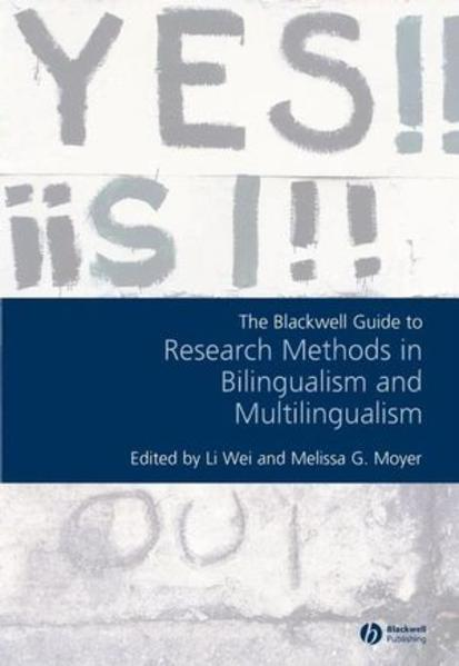 Blackwell Guide to Research Methods in Bilingualism and Multilingualism - Coverbild