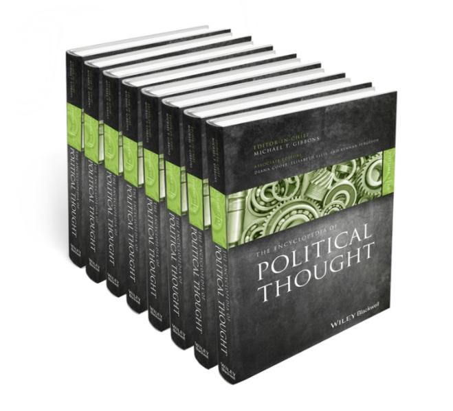The Encyclopedia of Political Thought - Coverbild