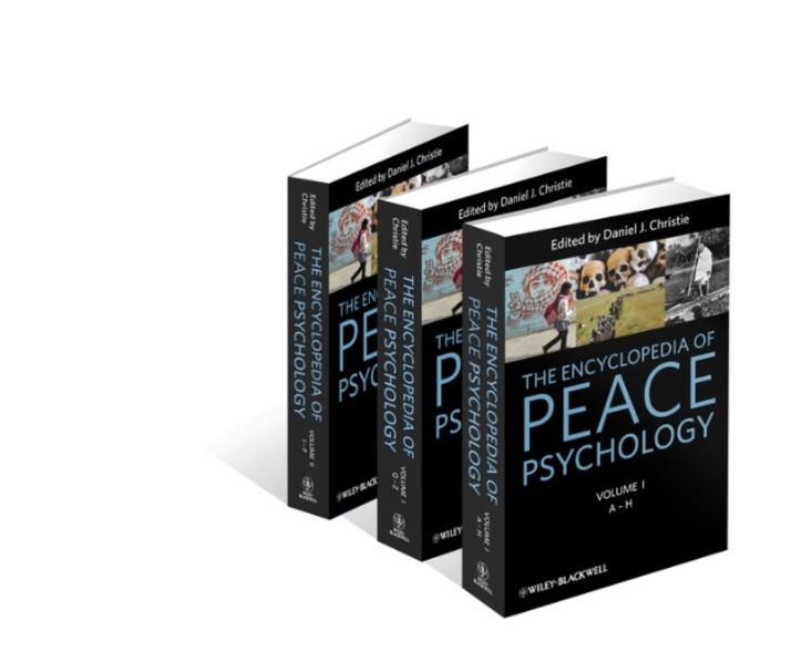 The Encyclopedia of Peace Psychology - Coverbild