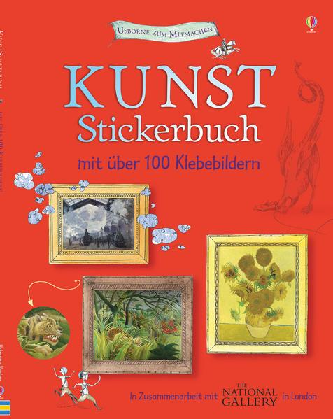 Kunst Stickerbuch - Coverbild
