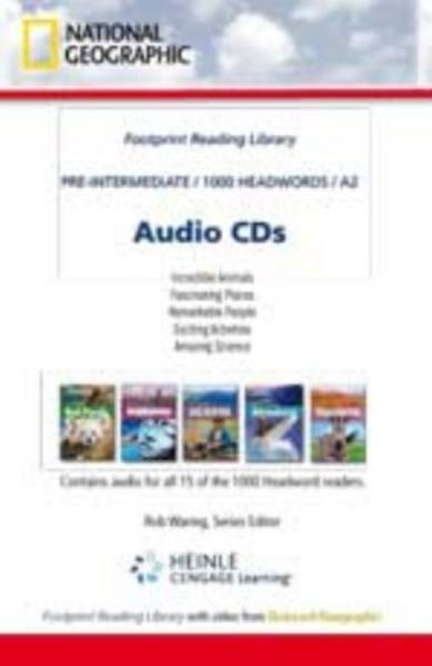 National Geographic Readers Audio CDs Niveau 2 - Coverbild