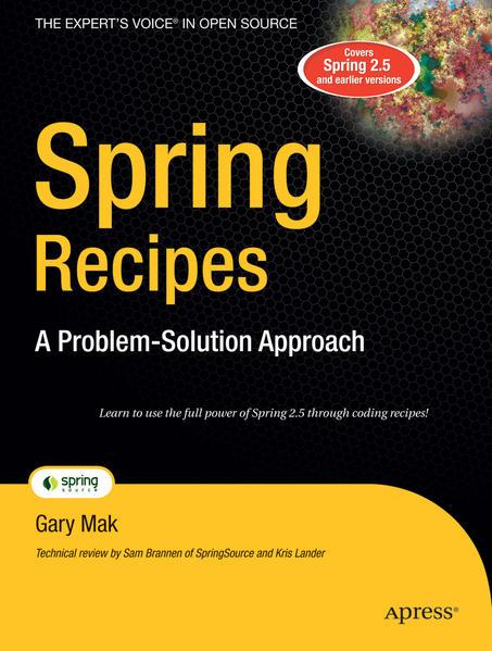 Spring Recipes - Coverbild