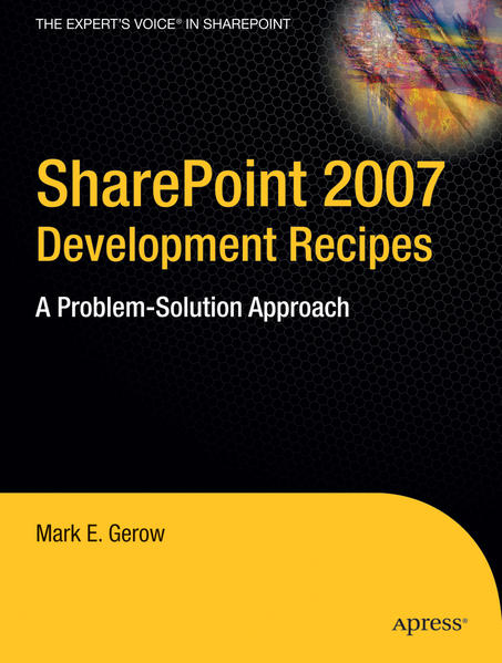 SharePoint 2007 Development Recipes - Coverbild