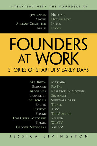 Founders at Work - Coverbild