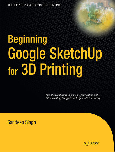 Beginning Google Sketchup for 3D Printing - Coverbild