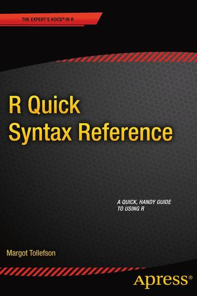 R Quick Syntax Reference - Coverbild