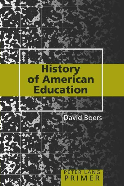 History of American Education Primer - Coverbild