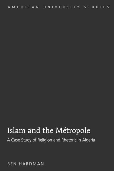 Islam and the Métropole - Coverbild