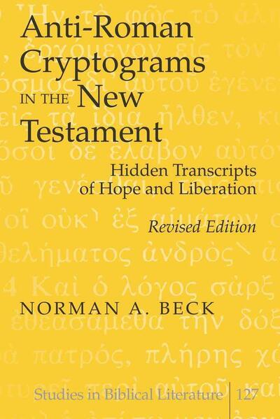 Anti-Roman Cryptograms in the New Testament - Coverbild