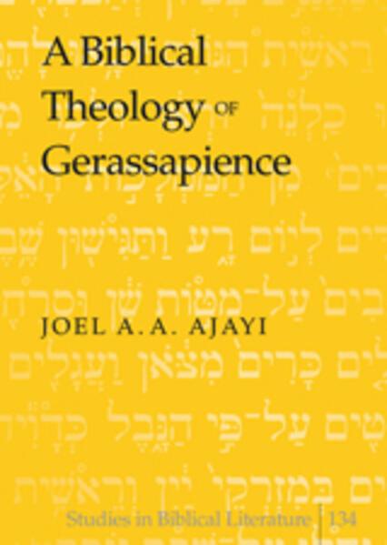 A Biblical Theology of Gerassapience - Coverbild