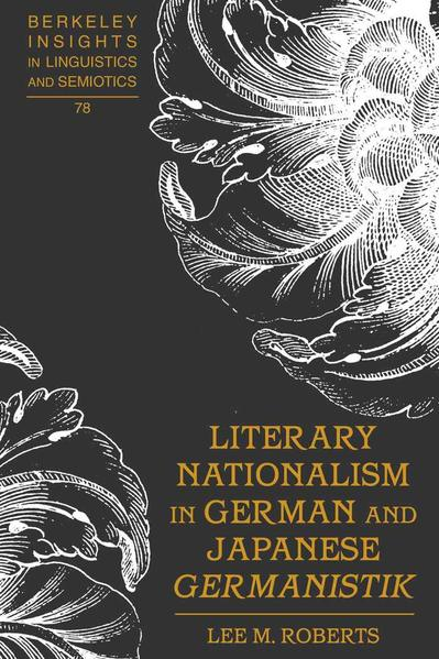 Literary Nationalism in German and Japanese «Germanistik» - Coverbild
