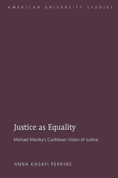 Justice as Equality - Coverbild