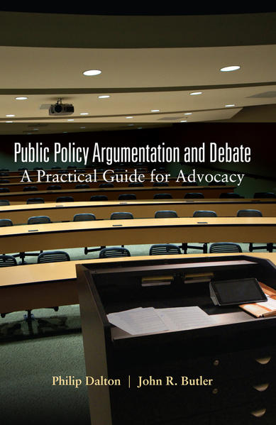 Public Policy Argumentation and Debate - Coverbild