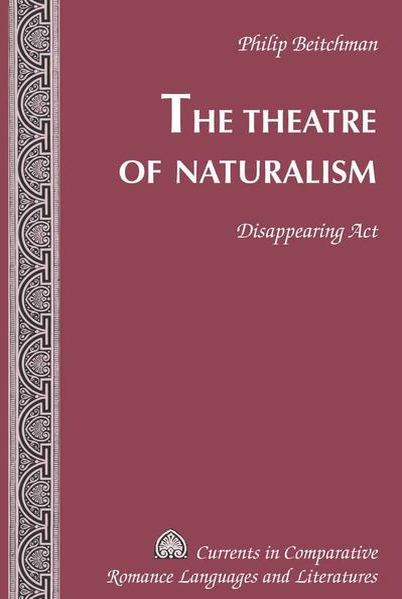 The Theatre of Naturalism - Coverbild