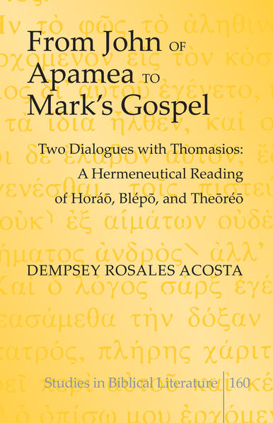 From John of Apamea to Mark's Gospel - Coverbild