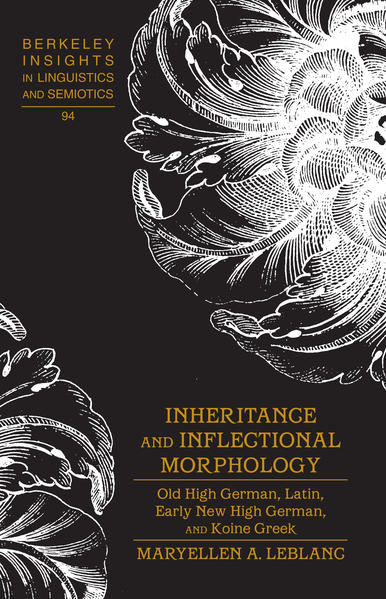 Inheritance and Inflectional Morphology - Coverbild