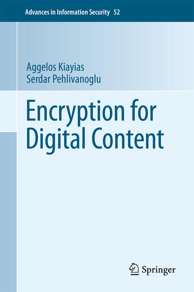 Encryption for Digital Content - Coverbild