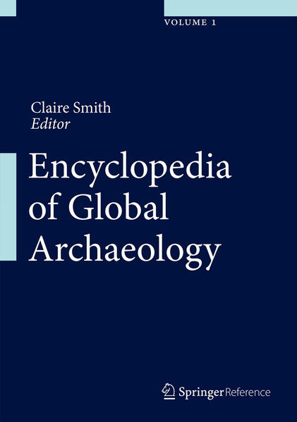 Encyclopedia of Global Archaeology - Coverbild