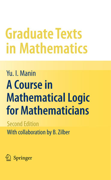 A Course in Mathematical Logic for Mathematicians - Coverbild