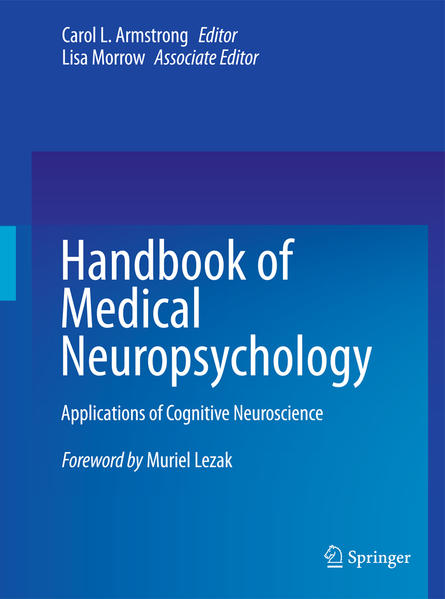 Handbook of Medical Neuropsychology - Coverbild